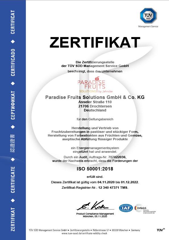 Energiemanagement 50001 bis 12.22
