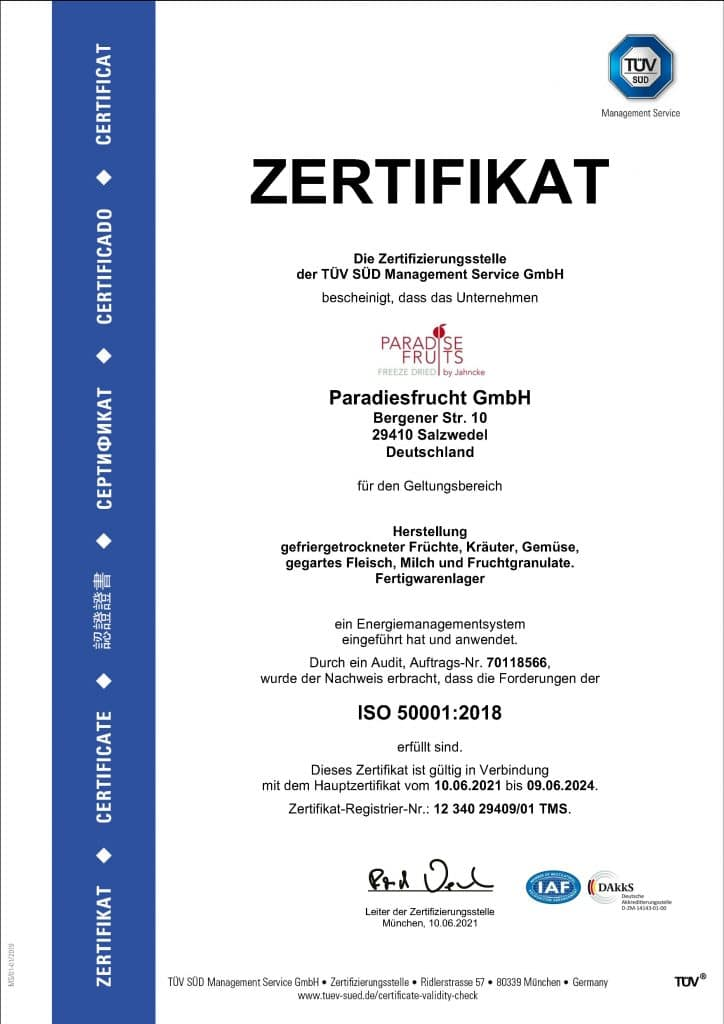 ISO Salzwedel deutsch