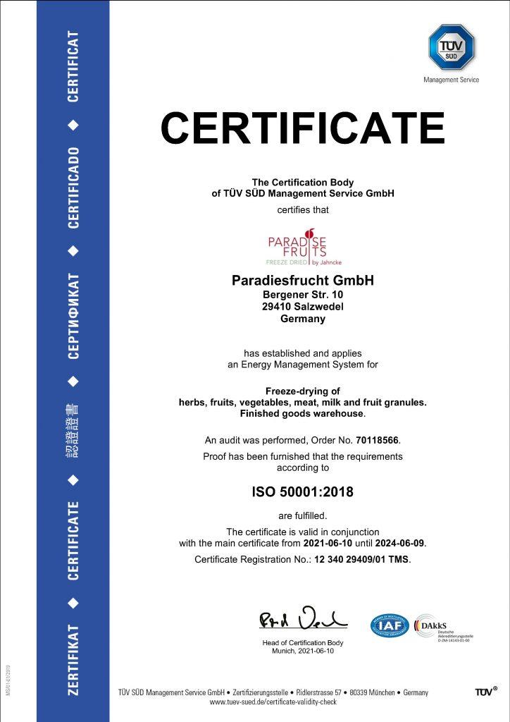 ISO Salzwedel englisch